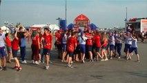 En coulisses - Les volontaires enflamment Kazan avec leur flash-mob
