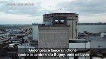 Nucléaire: Greenpeace lance un drone contre la centrale du Bugey