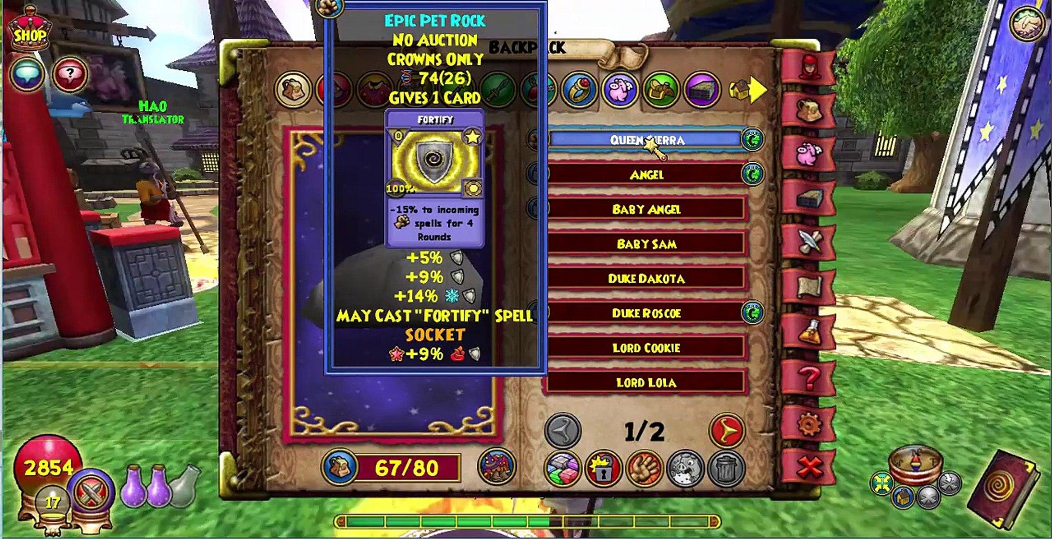 Wizard101 pet training to mega