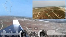 Drone Parrot Disco (Double Vision   ) - Landing from 500m