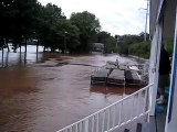 Flooding at Norristown Boat Club
