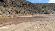 Flash flood in the Hoanib River, Kaokoveld, Namibia (Dec 2014)