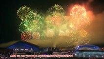 Closing Ceremony Sochi Winter Olympics 2014 Light show VIDEO