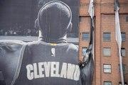 Massive LeBron James billboard coming down in Cleveland