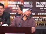 Manny Pacquiao vs Miguel Cotto Post Fight Press Conference
