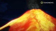 Gunung Agung erupsi, berjenis Strombolian - TomoNews