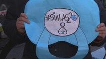 Senado argentino arranca sesiones por Ley de Aborto entre consignas populares
