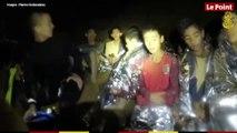 Thaïlande : images rassurantes des enfants
