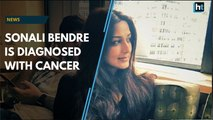 Sonali Bendre is diagnosed with cancer