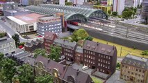 The Great Model Railroad Layout in Berlin with 9,680 square feet of model trains in HO scale