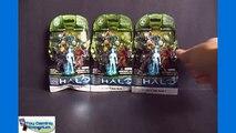 Opening 3 Mystery Packs of Halo Mega Bloks Series 4 Miniature Figures