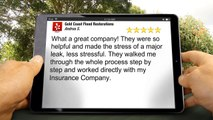 Gold Coast Flood Restorations San Diego Remarkable Five Star Review by Andrea S.
