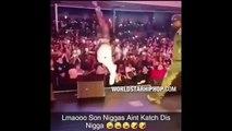 Ne jamais sauter dans la foule pendant un concert de Rap... raté