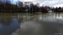 Crue : Joinville-le-Pont (Val-de-Marne) est inondée