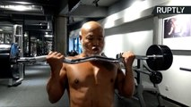 China's Buffest Grandpa Flexes Those Guns at 62