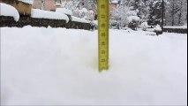 Importantes chutes de neige en Haute-Loire