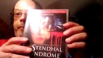 The Stendhal Syndrome (Blue Underground) Limited Edition Blu Ray Unboxing