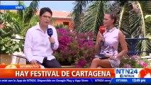 Escritor Luke Harding y expresidente boliviano Jorge Quiroga hablaron sobre la actualidad del continente desde el Hay Festival en Cartagena, Colombia