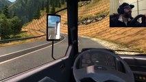 Euro Truck Simulator 2 BMC Pro 827 Kirkayak Kop Dagi Logitech G29