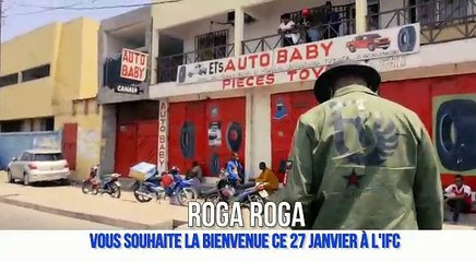 Roga Roga souhaite la bienvenue à l'IFC
