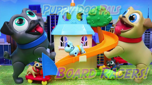 Puppy Dog Pals Bingo and Rolly are in Their New Doghouse