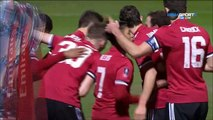 0-2 Ander Herrera Goal England  FA Cup  Round 4 - 26.01.2018 Yeovil Town 0-2 Manchester United