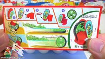 Киндер Сюрприз Энгри Бёрдс, Злые Птички в киндерах из Плей До (Kinder Surprise Angry Birds)