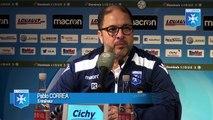 Réactions de Pablo Correa et Romain Philippoteaux après AJA - Paris FC (1 - 1)