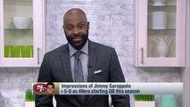 Jerry Rice likens Jimmy Garoppolo to Tom Brady, Joe Montana