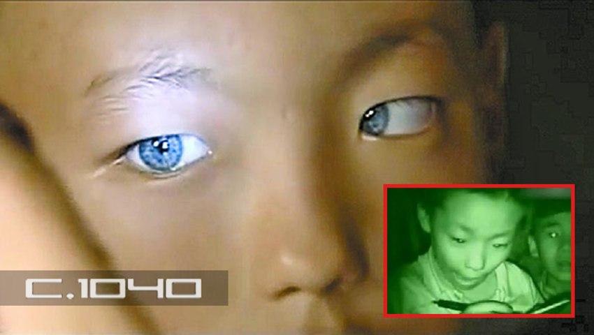 Niño chino con la capacidad de ver en la oscuridad desconcierta a los cientificos