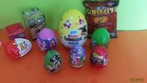 10 Sürpriz Yumurta Büyük Boy Kinder Maxi, Kinder Joy, Disney Cars ve Yeni Sürpriz Yumurtalar