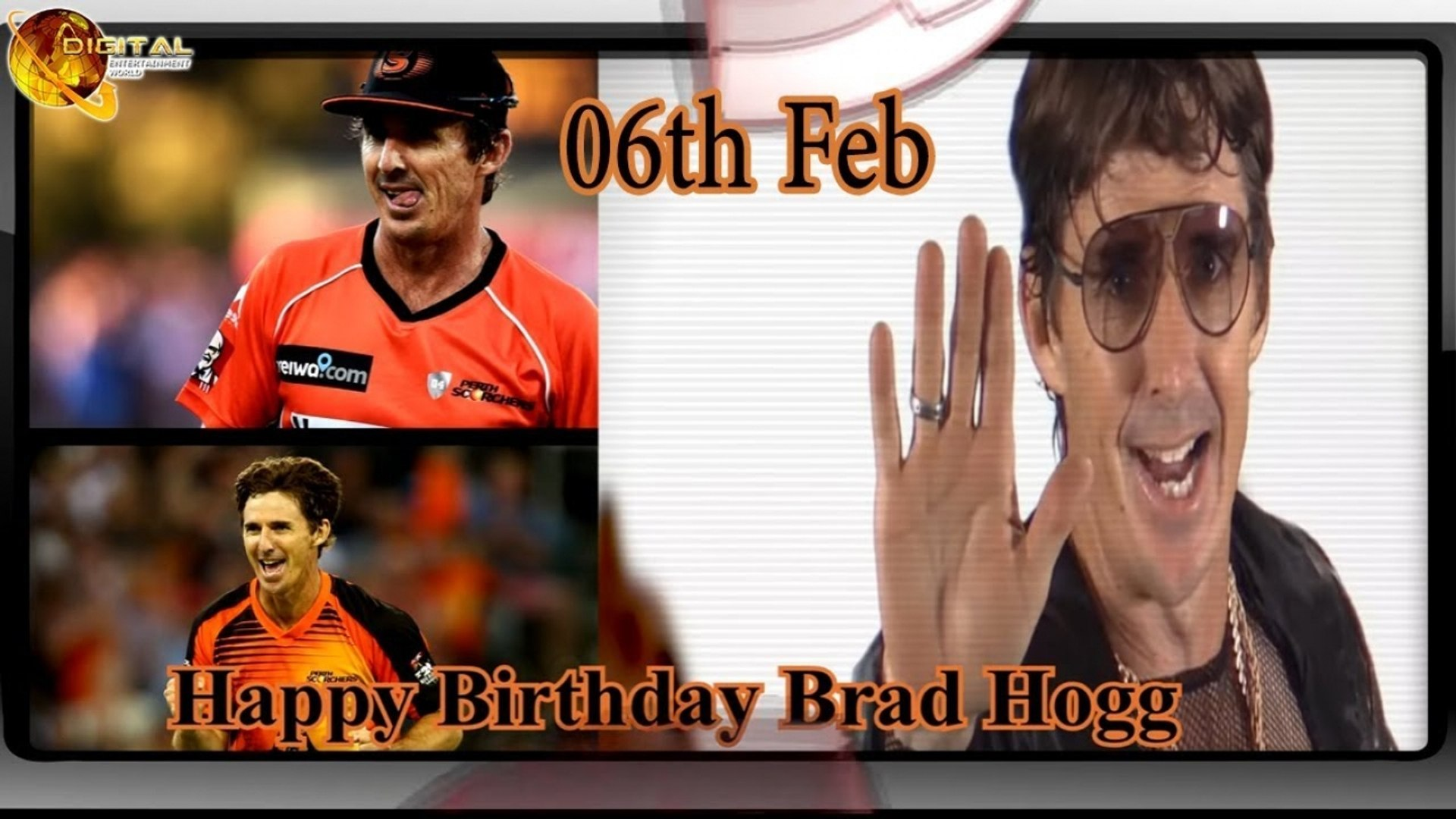 Happy Birthday Brad Hogg February 6