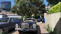 GTA V | MERCEDES S CLASS | W109 300SEL, W126 560 SEL, W140 S600, W221 S65 AMG, W222 S600