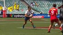 Sydney 7s - Les deux essais de France 7 Féminines contre le Canada