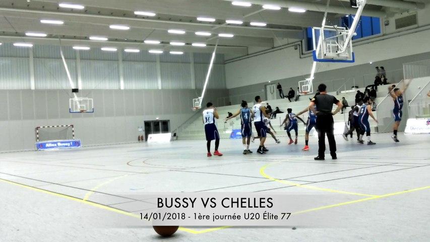 1ÈRE JOURNÉE U20 ÉLITE DÉPARTEMENTALE : BUSSY VS CHELLES (Part 2)