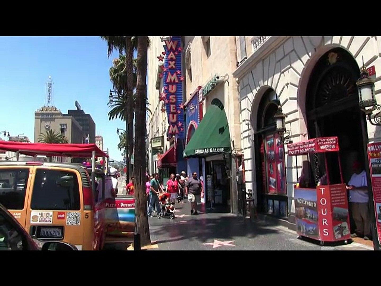 Etoiles Hollywood boulevard