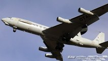Boeing E-3A Sentry NATO LX-N90456 - touch and go at Manching Air Base [2160p25]