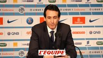 Foot - L1 - PSG : Emery «Cavani mérite son record»