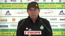 Foot - L1 - Saint-Etienne : Gasset «Un gros ouf de soulagement»