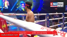 Long Sovandoeun vs Singdam(thai), Khmer Boxing CNC 27 Jan 2018, Kun Khmer vs Muay Thai