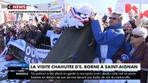 La ministre des Transports, Elisabeth Borne, accueillie sous les huées lors de sa visite à Saint-Aignan-Grandlieu - VIDEO
