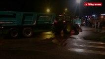 Quimper. Coup de semonce d'agriculteurs