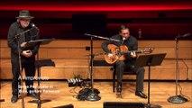 Duo Serge Pey, poète et Kiko Ruiz, guitare flamenca (extrait) - A l'improviste