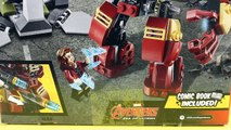 Lego Hulk Brothers Smash And Bash Battle Marvel Hulk Buster Iron Man And Ultron Prime