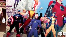Son of Hulk vs Hulk, Wolverine, Wolverine's Son & Juggernaut (Incredible Hulk Vol 1: Banner & Son)