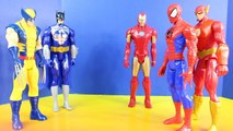 Marvel Ultimate Spider-man Trains With Batman Iron Man Wolverine And Flash To Battle Electro