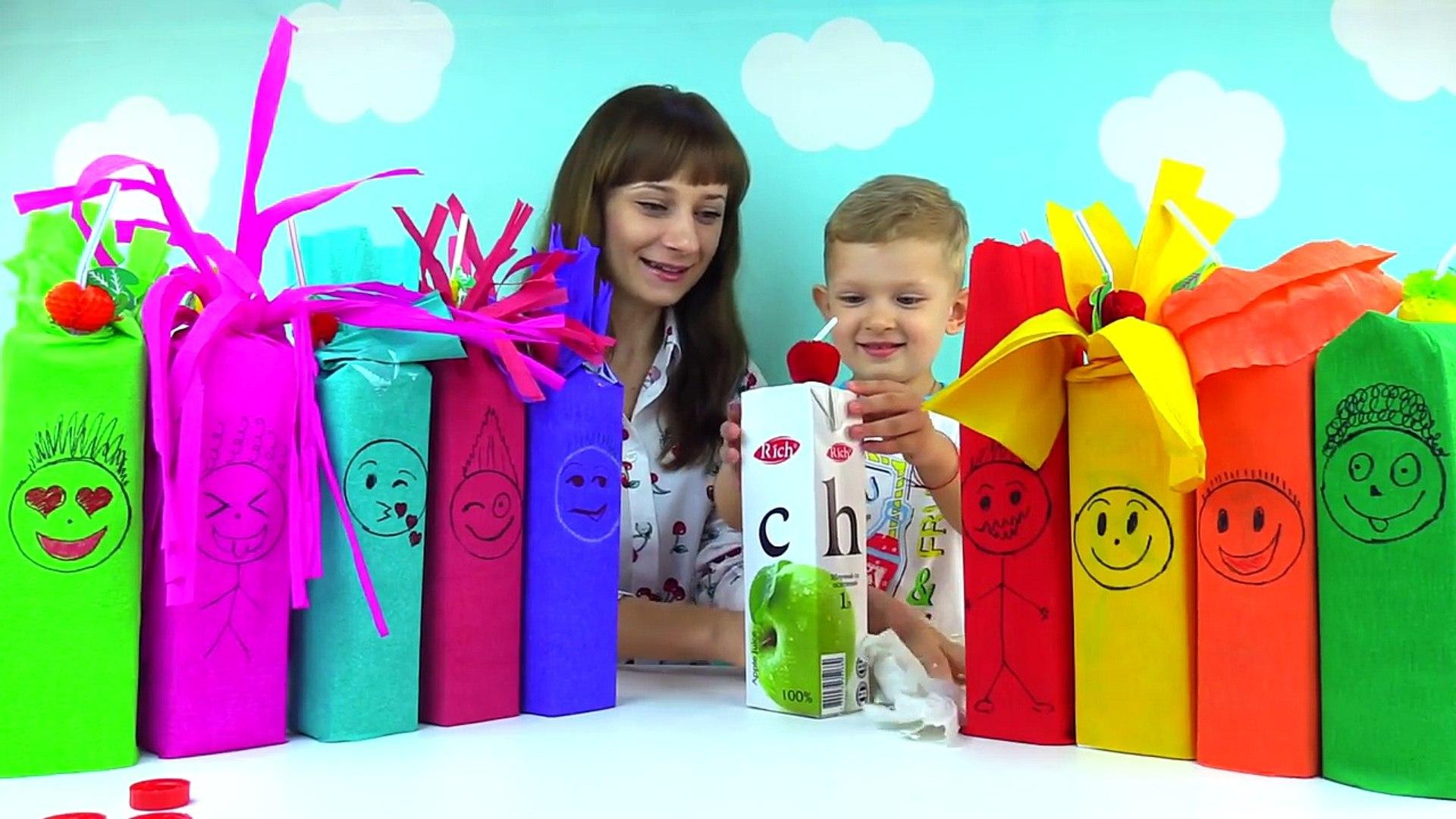 СОК ЧЕЛЛЕНДЖ Угадай вкус сока. Juice Challenge. Kids JUICE Challenge