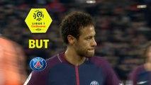 But NEYMAR JR (40ème pen) / Paris Saint-Germain - Montpellier Hérault SC - (4-0) - (PARIS-MHSC) / 2017-18