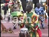 Voici le fils de Doudou Ndiaye Rose qui assure la relève...