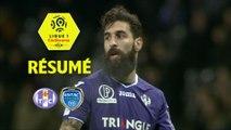 Toulouse FC - ESTAC Troyes (1-0)  - Résumé - (TFC-ESTAC) / 2017-18
